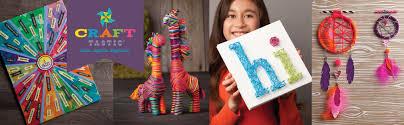 amazon com craft tastic i love unicorns kit craft kit makes 6