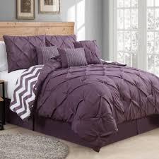 modern purple bedding sets allmodern