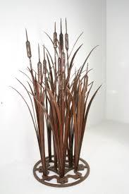 cattails sculpture from oak hill iron gallery 2 pinterest
