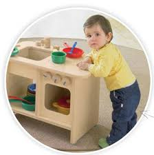 preschool kitchen furniture safety kitchen unit for preschool by haba 128541