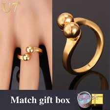 aliexpress buy u7 classic fashion wedding band rings pictures on simple wedding ring 2015 wedding ideas