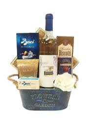wine baskets toast to wine gift basket by pompei baskets