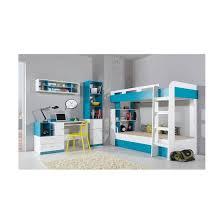 chambre garçon lit superposé lits superposes mobi bleu lit superposé décoration et design