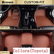 floor mats for toyota corolla 2017 toyota custom fit leather car floor mats for corolla 2014