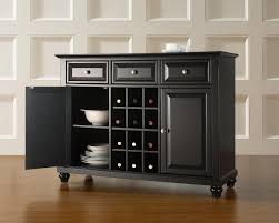 kitchen cool black dining room hutch furniture with white