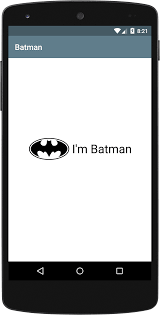 imageview android android how to write batman like xml layout