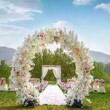 discount garland wedding arch decor 2017 garland wedding arch