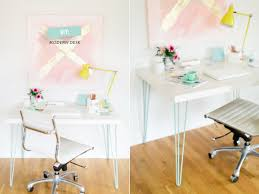 Shallow Desk The Key To Chic Diy Furniture Is A Set Of Hairpin Legs