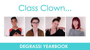 class yearbook degrassi yearbook class clown