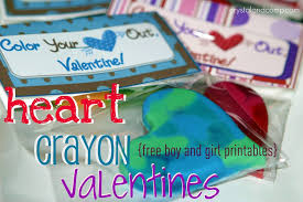 crayon valentines s day crafts for kids s