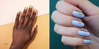 nail design beautiful half moon nail designs half moon