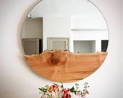 round mirror etsy