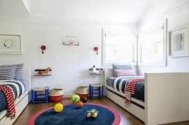 Red And Blue Boys Bedroom - red and blue kids bedroom design contemporary boy u0027s room