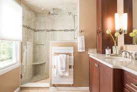 Small Bathroom Designs With Walk In Shower Kitchen U0026 Bath Gallery Design Showrooms Remodeling Ma Ri Ct