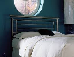 amazon com chatham metal headboard with rounded top rail satin