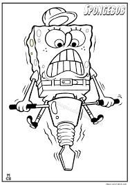 spongebob coloring pages 7