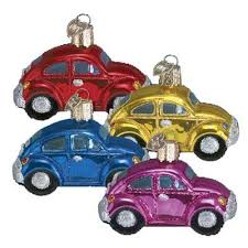 volkswagen beetle ornament princess decor