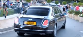 limousine bentley emir of qatar shows off his 21 foot bentley mulsanne grand