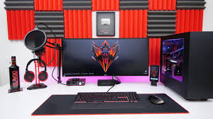 ultimate desk setup tour early 2016 youtube