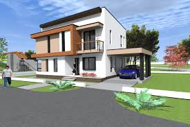 Two Story House Plans by House Design And 3d Elevation Two Storey House Plan Nc22 House