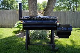 brinkmann smoker mods trailmaster horizontal fire coal basket