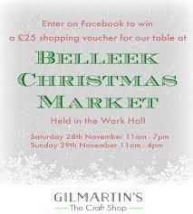 belleek christmas market pauline u0027s blog