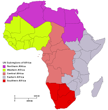Blank Map Of Continents by List Of Regions Of Africa Wikipedia
