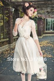 104 best tea length and vintage wedding dresses images on