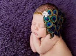 peacock headband headbands flower headbands for babies toddlers squishy cheeks