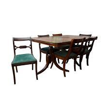 bassett duncan phyfe style dining set ebth
