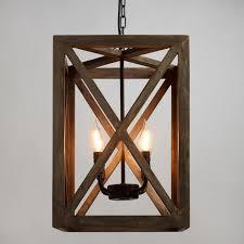 Wood Light Fixture Pendant Lighting Light Fixtures Chandeliers World Market