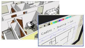 creating a sketchup model from a cadstd drawing