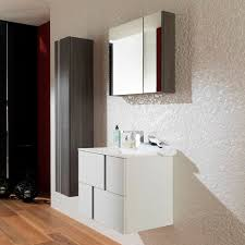 wall hung washbasin cabinet laminate contemporary lacquered