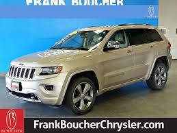 jeep grand 2015 certified pre owned 2015 jeep grand overland suv in
