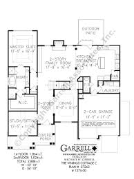 House Plan 888 13 by Vinings Cottage C House Plan Covered Porch Plans