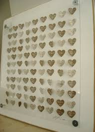 wedding guest book alternative ideas reserve 3d hearts guest book alternative baby shower guest book
