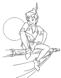 peter pan coloring pages coloring pages free creativemove