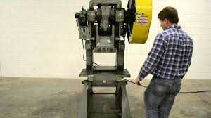 havir press rite model 40 mechanical obi punch press youtube