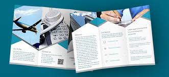 one sided brochure template 40 print ready brochure templates free and premium