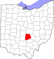 State Map Of Ohio by File Map Of Ohio Highlighting Fairfield County Svg Wikimedia Commons