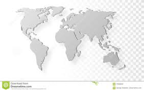 Map Of World Blank by Blank Map Of Australia Map Of Australia On Grey Background Stock