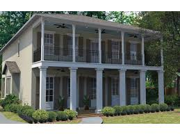 eplans plantation house plan u2013 narrow lot plan with neoclassical