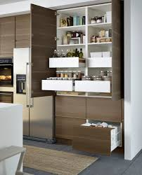 voxtorp deur walnootpatroon kitchens organizations and house