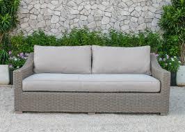Renava Palisades Outdoor Wicker Sofa Set VIG Furniture Modern - Wicker sofa sets