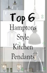 hamptons style kitchen lights kitchen pendant lighting kitchen