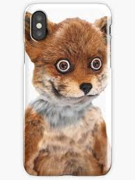 Fox Meme - geoff stoned fox taxidermy meme adele morse iphone cases skins