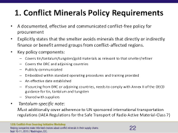 conflict minerals reporting template conflict minerals policy exle templates resume exles