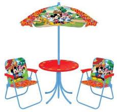 thomas train table amazon thomas the train mickey friends patio sets just 29 50 shipped