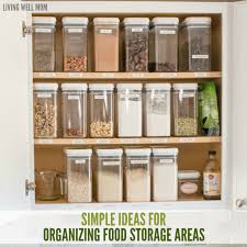 kitchen food storage ideas 2 tips for organizing food storage areas in your kitchen