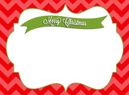 blank christmas card christmas lights decoration